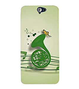 Vizagbeats Music Instrument Back Case Cover for HTC One A9