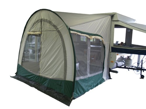 A&E Systems 747GRN11.000 Cabana 11' White Awning