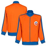 1980's Hansa Rostock Retro Track Jacke - orange