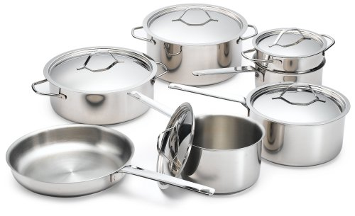 Paderno Pots for Eternity 12 Piece Confederation Cookware Set