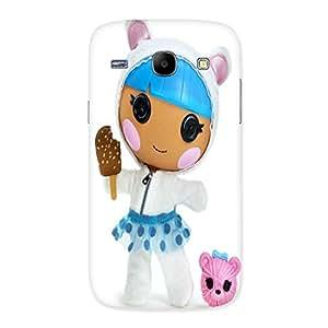 Ajay Enterprises Cute Icecreamer Back Case Cover for Galaxy Core