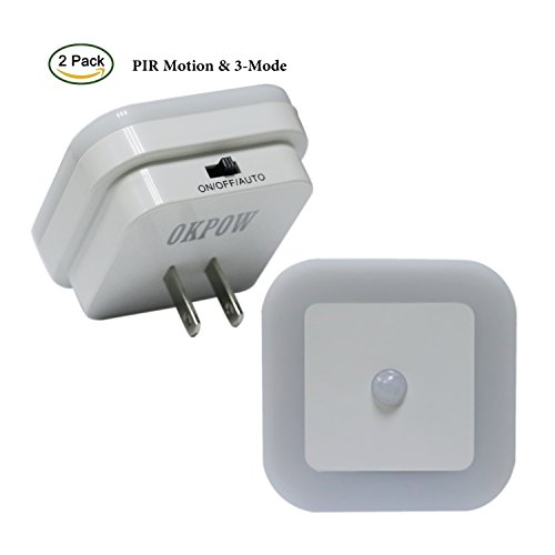 Top 5 Best Motion Sensor Night Light Plug In For Sale 2016