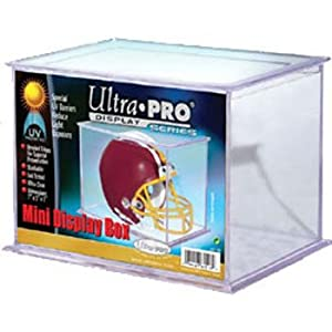 Ultra Pro Mini Football/ Baseball Helmet Display UV Protected