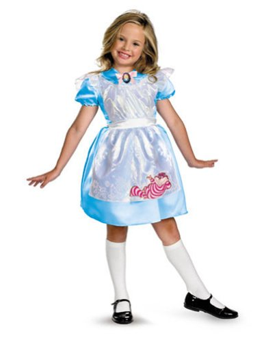 Baby-Toddler-Costume Alice Classic Toddler Costume 3T-4T Halloween Costume