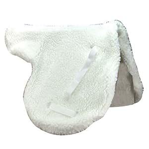 Intrepid International English Close Contact Fleece Saddle Pad