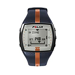 Polar FT4 Heart Rate Monitor (Blue/Orange)