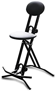 Road Ready Stands Rrgch Guitar Stool With Back Rest Fully
