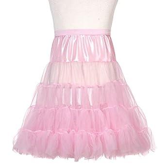 Toddler Girls Pink Half Tea Length Petticoat Slip 2T