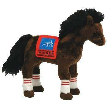 Beanie Baby Kentucky Derby Horse