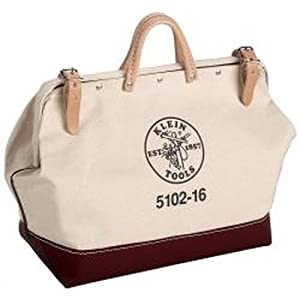 "Klein 5102-16 16"" Canvas Tool Bag"