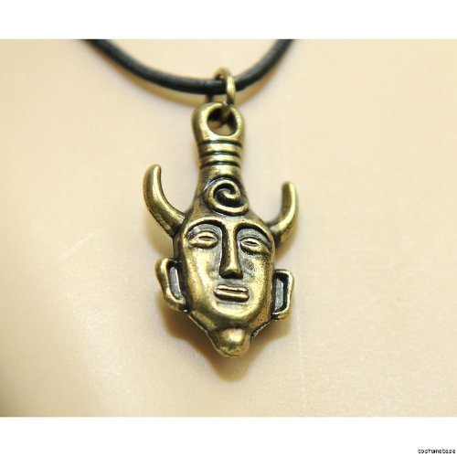 Bronze Alloy Supernatural Dean's Amulet Two-sides Pendent Necklace