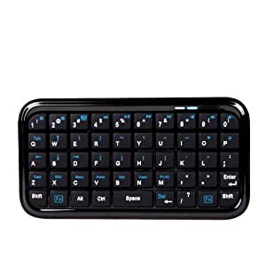 DURAGADGET Miniature Bluetooth Tablet Keyboard
