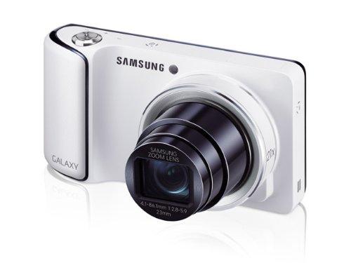 【SAMSUNG】GALAXY CAMERA ギャラクシーカメラ WHITE 白 EK-GC100 海外版SIMフリー