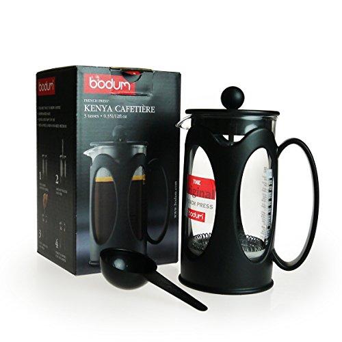 ボダム KENYA コーヒーメーカー 0.35L ブラック 10682-01【並行輸入品】