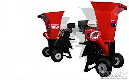 Powerful 15HP Gas Gasoline Powered Wood Chipper Shredder Mulcher w/ Electric St.