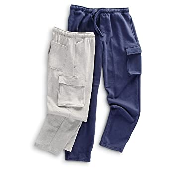2 Rio Cargo Fleece Pants 1 Grey 1 Navy by Rio Brands