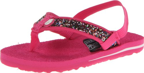Teva Mush T Sparkle Flip Flop (Toddler),Pink,5 M Us Toddler back-1057667