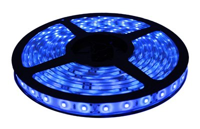 Brilliant Brand Lighting Seasonal Decoration Blue Brilliant Brandled Strip Light Smd-3528 12-Volt 16.4' Spool Waterproof Ip67