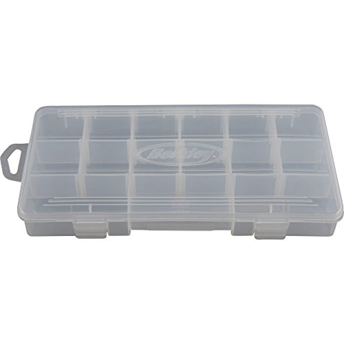 Berkley Tackle Trays, Clear, 9x4.75x1.2-Inch (Tackle Tray compare prices)