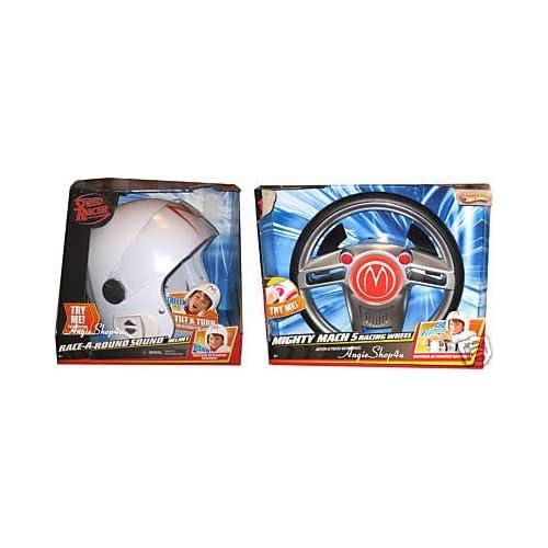 Amazon.com : Speed Racer Helmet & Steering Wheel - Hot