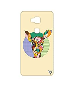Vogueshell Colourful Deer Printed Symmetry PRO Series Hard Back Case for Huawei Honor 5X