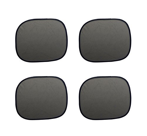 black uv protection car side rear window baby sun shade sets trucks suv 4 pack small windows. Black Bedroom Furniture Sets. Home Design Ideas