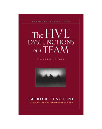 The Five Dysfunctions of a Team, (Large Print): A Leadership Fable