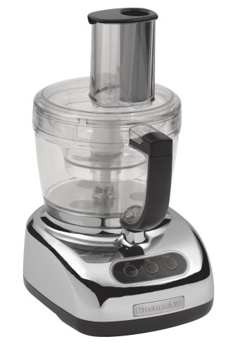 KitchenAid KFP750CR 700-Watt 12-Cup Food Processor, Chrome