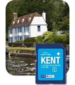 Satmap MapCard: Kent (OS 25k, 10k)