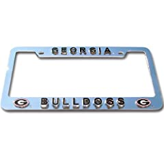 Buy Georgia Bulldogs Tag Frame by Siskiyou Automotive