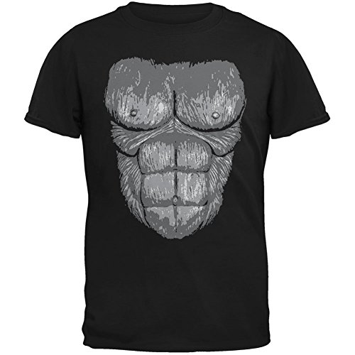 Halloween Gorilla Suit Costume Black Youth T-Shirt