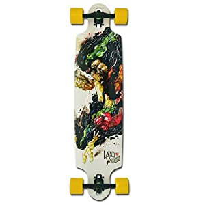 Landyachtz Drop Speed Complete Longboard Skateboard - 39.25`