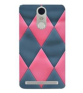 EPICCASE diamond in pink and blue Mobile Back Case Cover For Lenovo K5 Note (Designer Case)