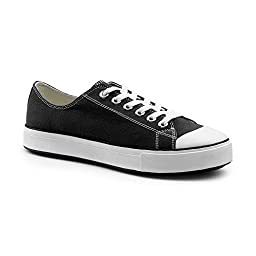 Keuka SureGrip Unisex - Adult Element Black Athletic Slip Resistant Work Shoes 9.5M