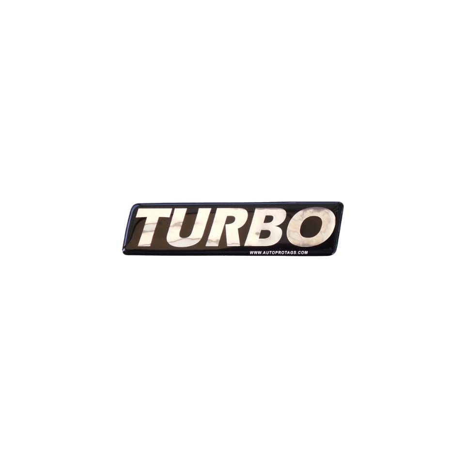 TURBO Emblem Badge Decal for ALL Vehicles