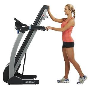 LifeSpan TR 1200i Folding Treadmill (2011 Model)