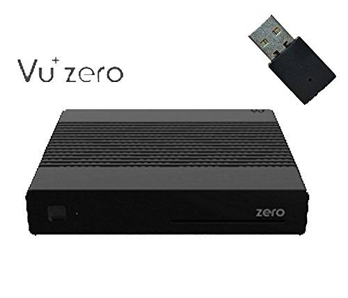 Vu+ ZERO 1 X DVB-S2 Tuner (Mpeg4 HD) noir + 150Mbit WLAN Stick
