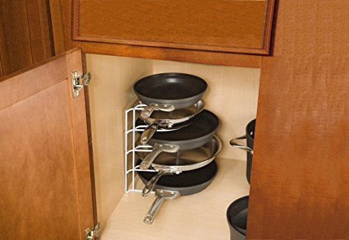 Rubbermaid Pan Organizer, Titanium