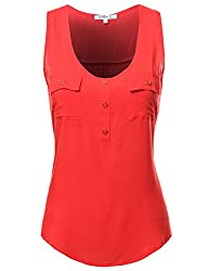 FPT Womens Sleeveless Rayon Blouse (S-3XL)