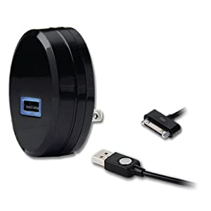 Qmadix QM-TCH-2.1-AP USB Travel Charging 2.1 Amp Kit