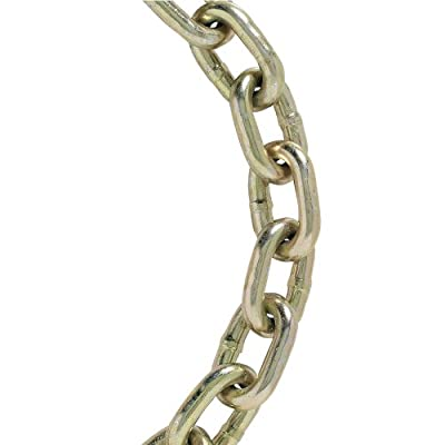 Koch A03291 3/8 by 10-Feet Grade 70 Transport Chain , Yellow Chromate by Koch Industries