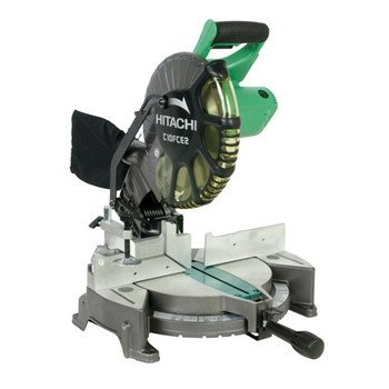 c10fce2 10 inch compound miter saw by hitachi list price $ 263