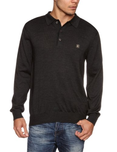 GABICCI Shepperton Men's Jumper Dark Grey Small