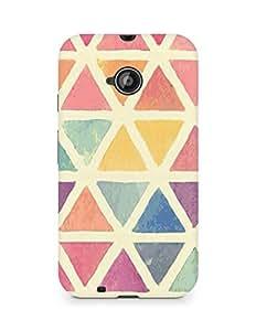 Amez designer printed 3d premium high quality back case cover for Motorola Moto E2 (Pattern 1)