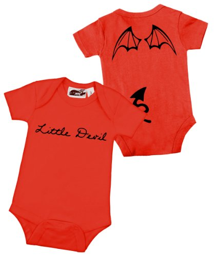 Little Devil Wings Red One Piece 3-6 Months front-927435