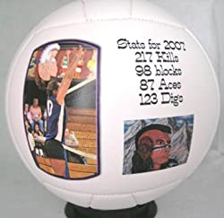 """COLORADO STATE UNIVERSITY Fans - Rams Volleyball - Create YOUR personal fan ball, we can print your favorite photo, graphic, and text message on our signature balls in FULL color."