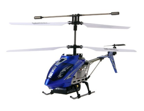 3.5-Channel Metal 3D RC Helicopter with Built-in Gyroscope (Blue)