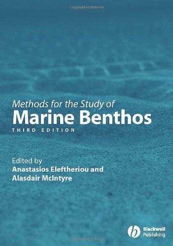 Methods for the Study of Marine Benthos PDF