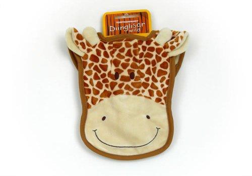 Teddykompaniet Diinglisar Wild Giraffe Baby Bib (Haklapp) - 16991 am pm kids pullover bib with washcloth giraffe