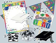 Graduation Party Kit Party Accessory (1 count) (7/Pkg) - 1